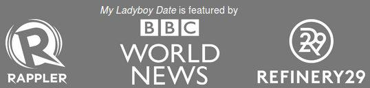 Schwule und transsexuelle Medien und Zeitschriften empfehlen My Ladyboy Date als beste Dating-Seite
