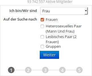 wie man sich auf lesbianpersonals.com in Germany registriert