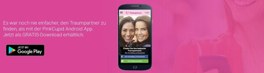 Pink Cupid hat eine Anwendung, um die Dating-Seite von deinem Handy aus zu nutzen.