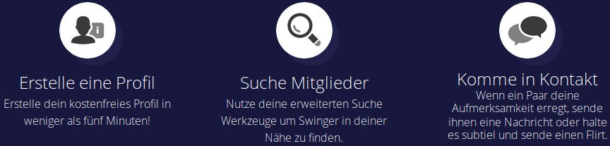 Wie funktioniert Swapfinder? Profil, Suche und Chat